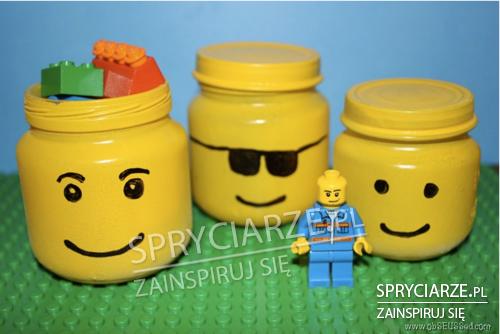 Pojemniki na klocki Lego