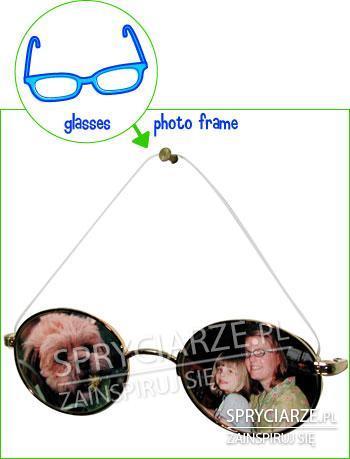 Ramka z okularów