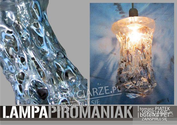 Lampka Piromaniak z butelek PET