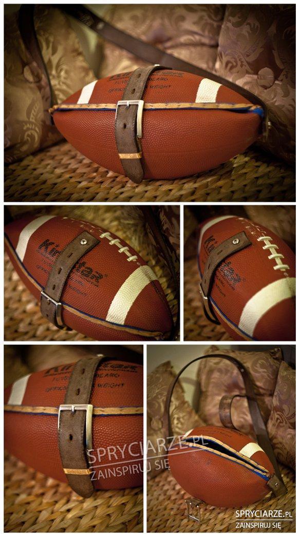 Torebka z piłki do rugby