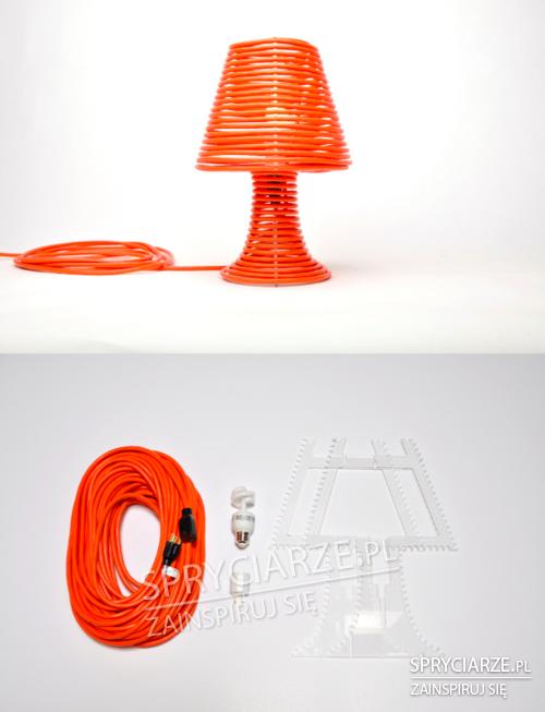 Lampka z kabla
