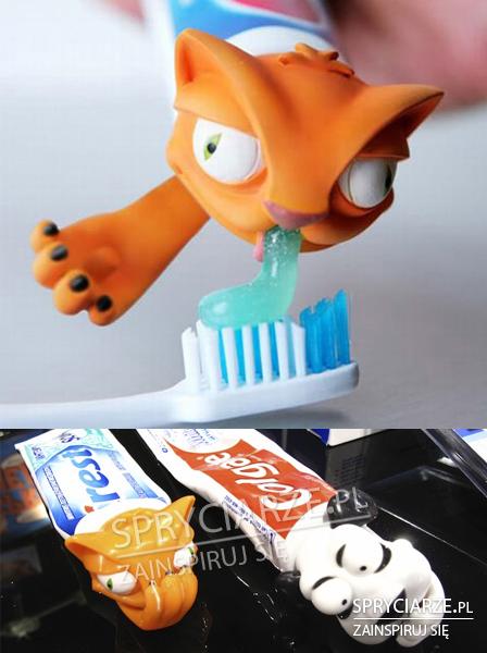 Nakładki na pastę do zębów