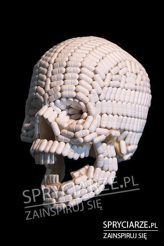 Ból głowy przedstawiony w artystyczny sposób