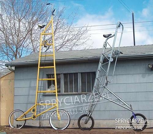 Drabinowe rowery