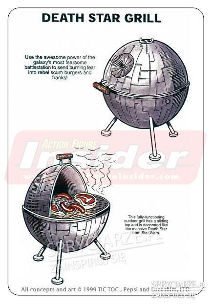 Pomysł na grilla z gwiezdnych wojen