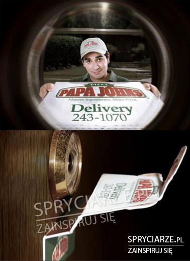 Żarcik z dostawą pizzy