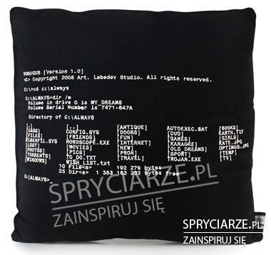Poduszka dla informatyka