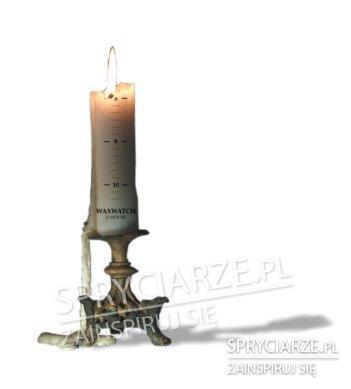 Świeczka z licznikiem