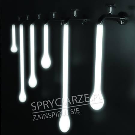 Designerskie lampki z motywem kranu