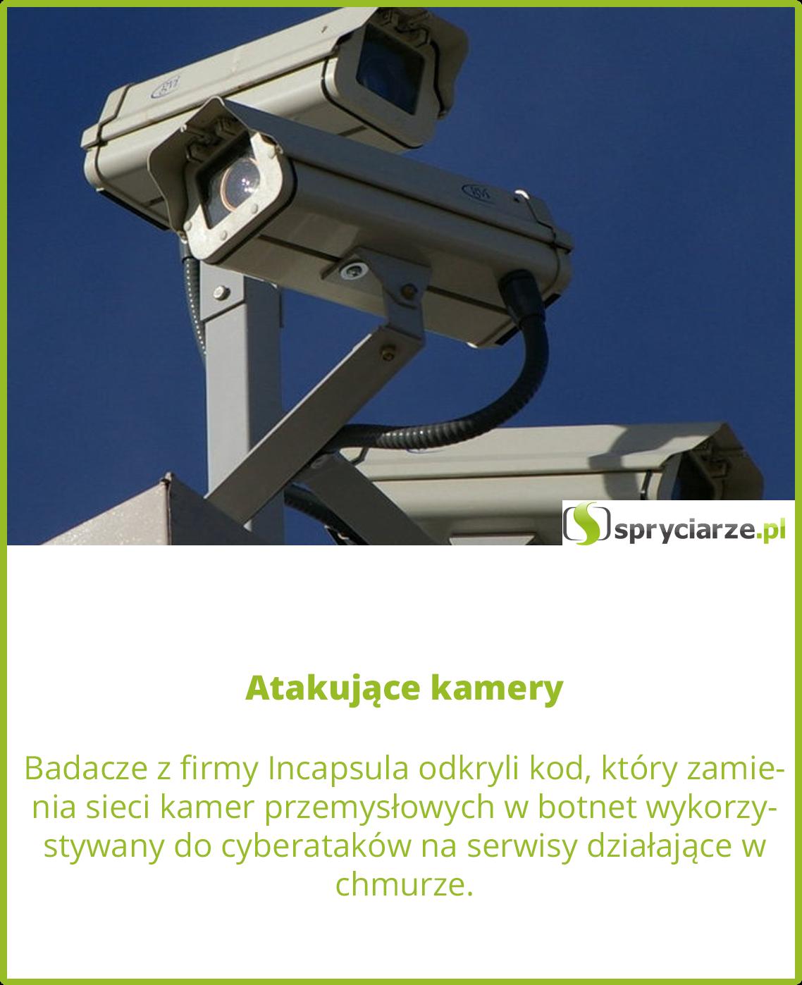Atakujące kamery
