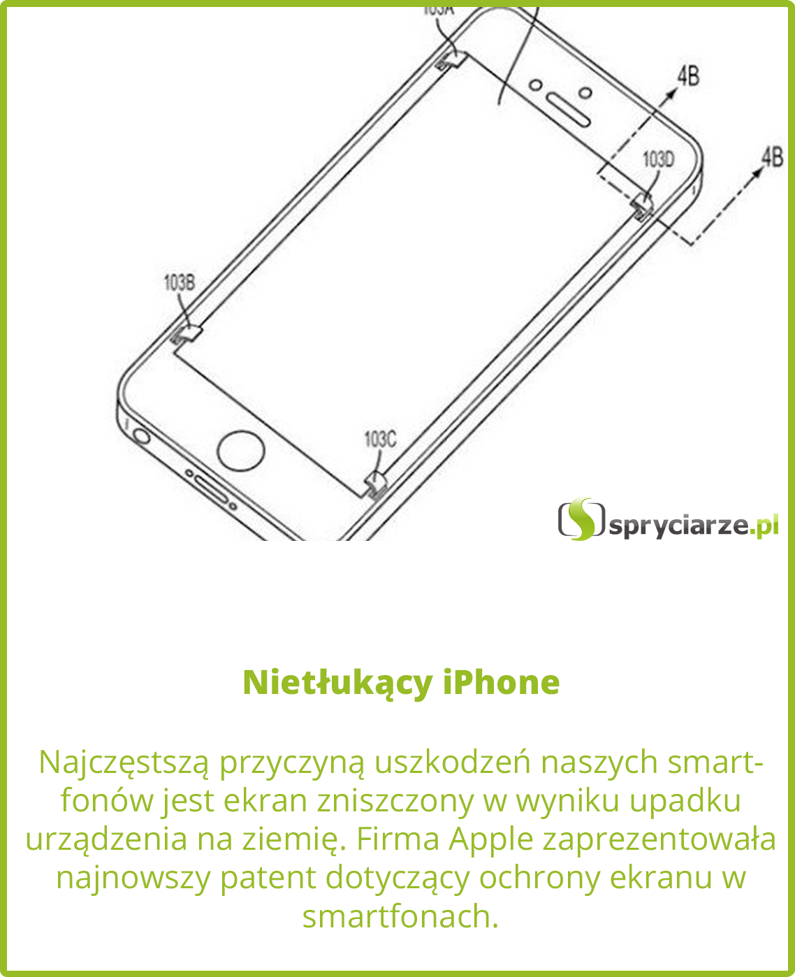 Nietłukący iPhone
