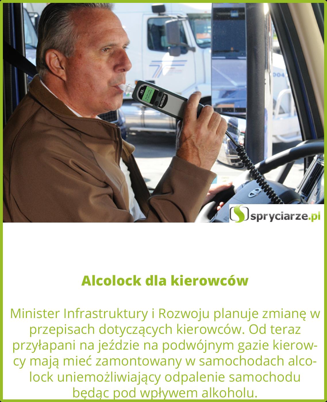 Alcolock dla kierowców