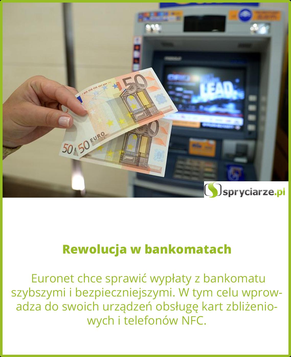 Rewolucja w bankomatach