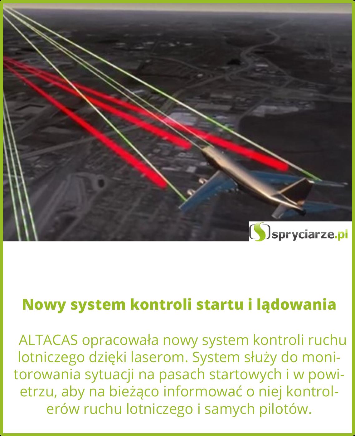Nowy system kontroli startu i lądowania