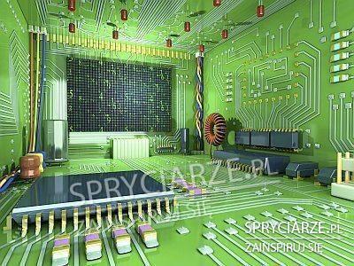 Pokój prawdziwego komputerowca