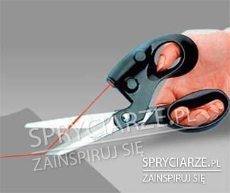 Nozyczki z laserem do prostego cięcia