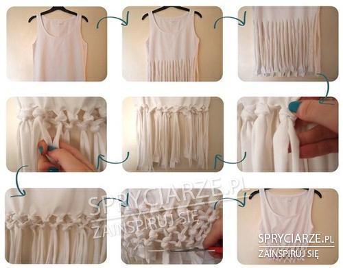 Koszulka z węzłami
