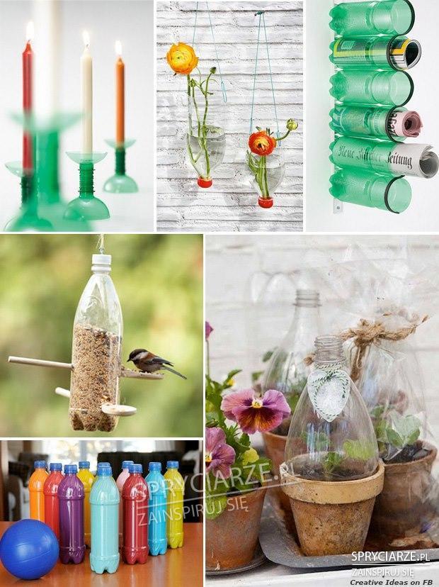 Plastikowe butelki i ich wykorzystanie
