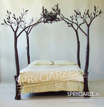 Łóżko na drzewach