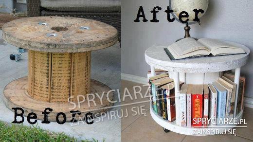 Stolik książkowy