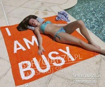 Gdy potrzebujesz ręcznika na wakacje